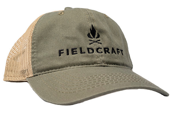 Fieldcraft Survival Shooter Hat OD Green and Tan