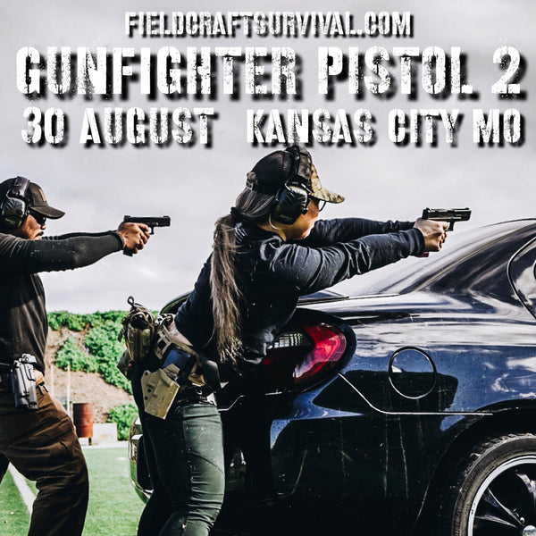 Gun Fighter Pistol Course Level 2 30 August 2020 (Kansas City, MO)