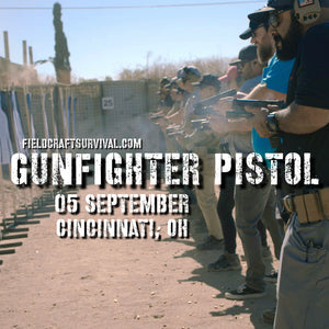 Gun Fighter Pistol Course Level 1, 05 September 2020 (Cincinnati, OH)