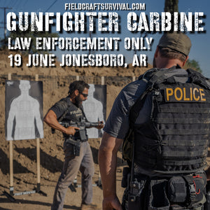 Gun Fighter Carbine Course Level 1 Law Enforcement Only 19 June 2020 (Jonesboro, AR)