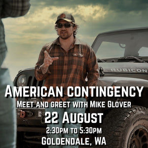 American Contingency Meet and Greet w/ Mike Glover, 22 Aug 2020 (Goldendale, WA)