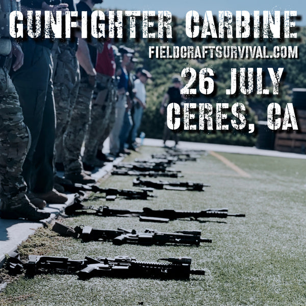 Gun Fighter Carbine Course Level 1,  26 July 2020 (Ceres, CA)