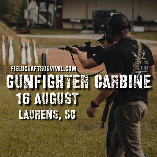 Gun Fighter Carbine Course Level 1, 16 August 2020 (Laurens, SC)