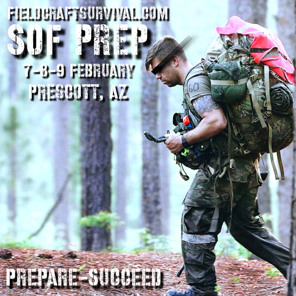 Special Operations Preparation And Assessment Course, 7-9 February, 2020 (Prescott, AZ)