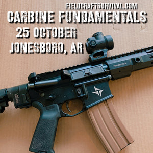 Carbine Fundamentals Course, 25 October 2020 (Jonesboro, AR)