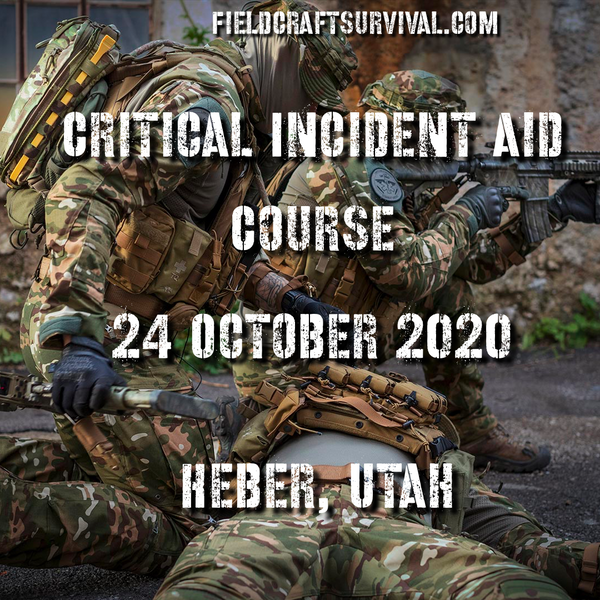 The Critical Incident Aid Course, 24 October 2020 (Heber, Utah)