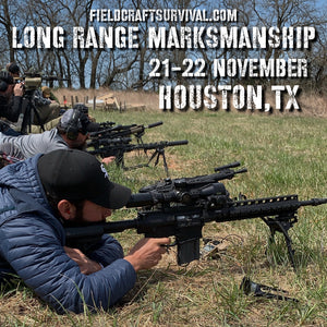 2 Day, Long Range Marksmanship Course, 21-22 November 2020, (Houston, TX)