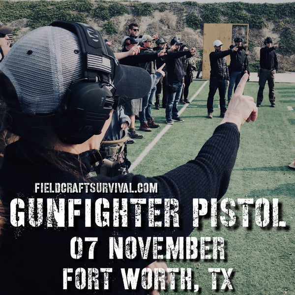 Gun Fighter Pistol Course Level 1, 07 November 2020 (Fort Worth, TX)