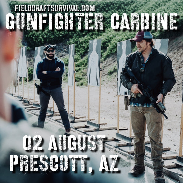 Gun Fighter Carbine Course Level 1 02 August 2020 (Prescott, AZ)
