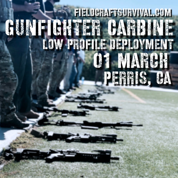 Gun Fighter Carbine Course - Low Profile Deployment 01 March 2020 (Perris, CA)