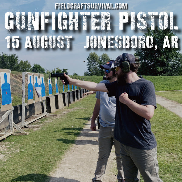Gun Fighter Pistol Course Level 1, 15 August 2020 (Jonesboro, AR)