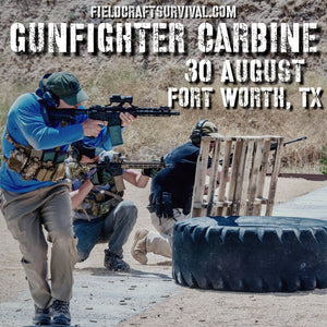 Gun Fighter Carbine Course Level 1,  30 August 2020 (Fort Worth, TX)