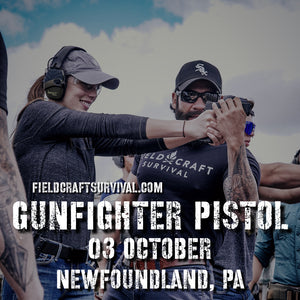Gun Fighter Pistol Course Level 1, 03 October 2020 (Newfoundland, PA)