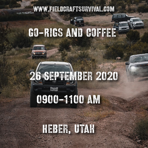 GoRigs and Coffee with Stop the Bleed Class, 26 September 2020 (Heber City, Utah)