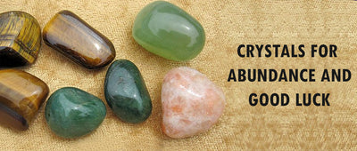 Crystals for abundance and good luck