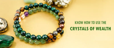 Know how to use the crystals of wealth