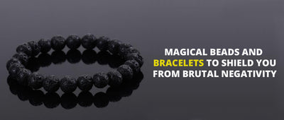 Magical beads and bracelets to shield you from brutal negativity