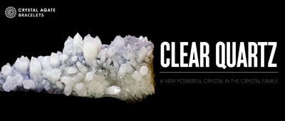 CLEAR QUARTZ a very powerful crystal in the crystal family