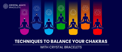 Techniques to balance your chakras with crystal bracelets