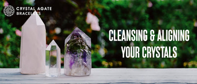 Cleansling and aligning your crystals
