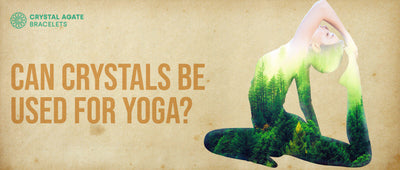 Can crystals be used for yoga?