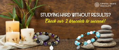 Studying hard without results? Check our 2 bracelets to succeed!