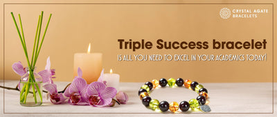Triple Success bracelet is all you need to excel in your academics today!