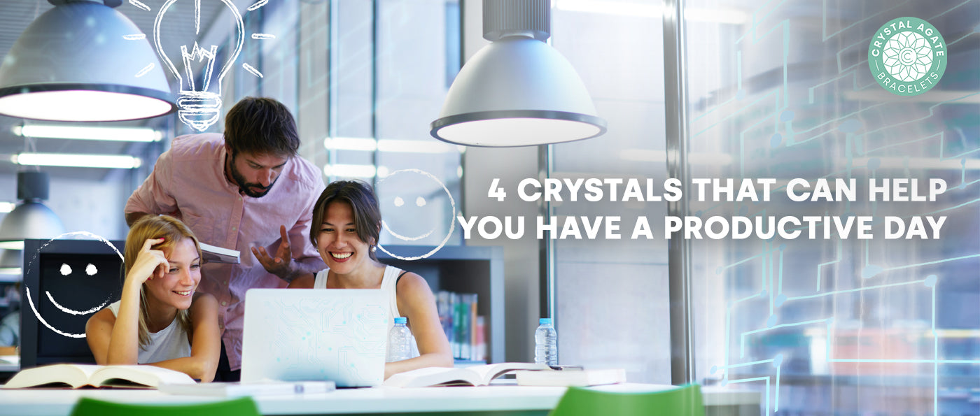 4 Crystals That Can Help You Have A Productive Day