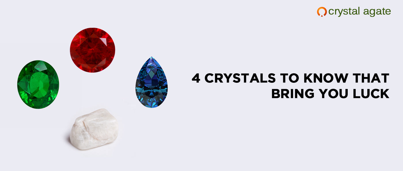 4 Crystals To Know That Bring You Luck