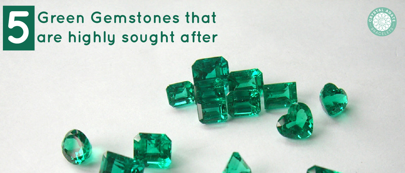 5 Green Gemstones That Are Highly Sought After