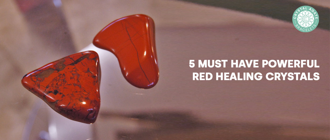5 Must-Have Powerful Red Healing Crystals