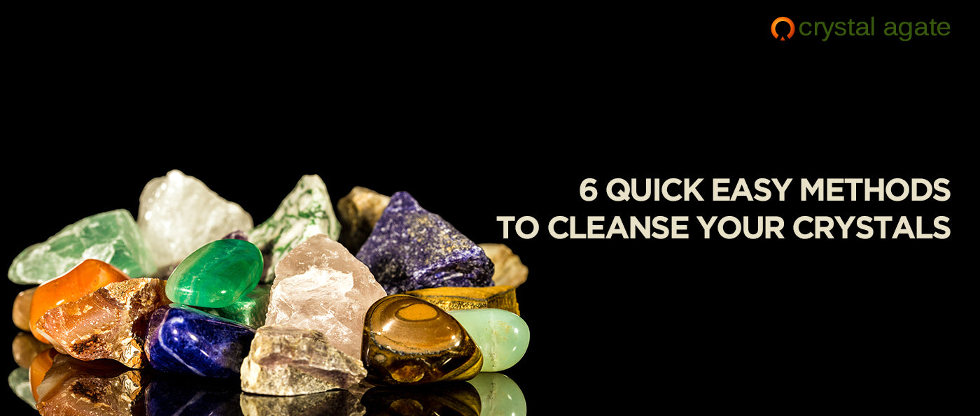 6 quick easy methods to cleanse your crystals