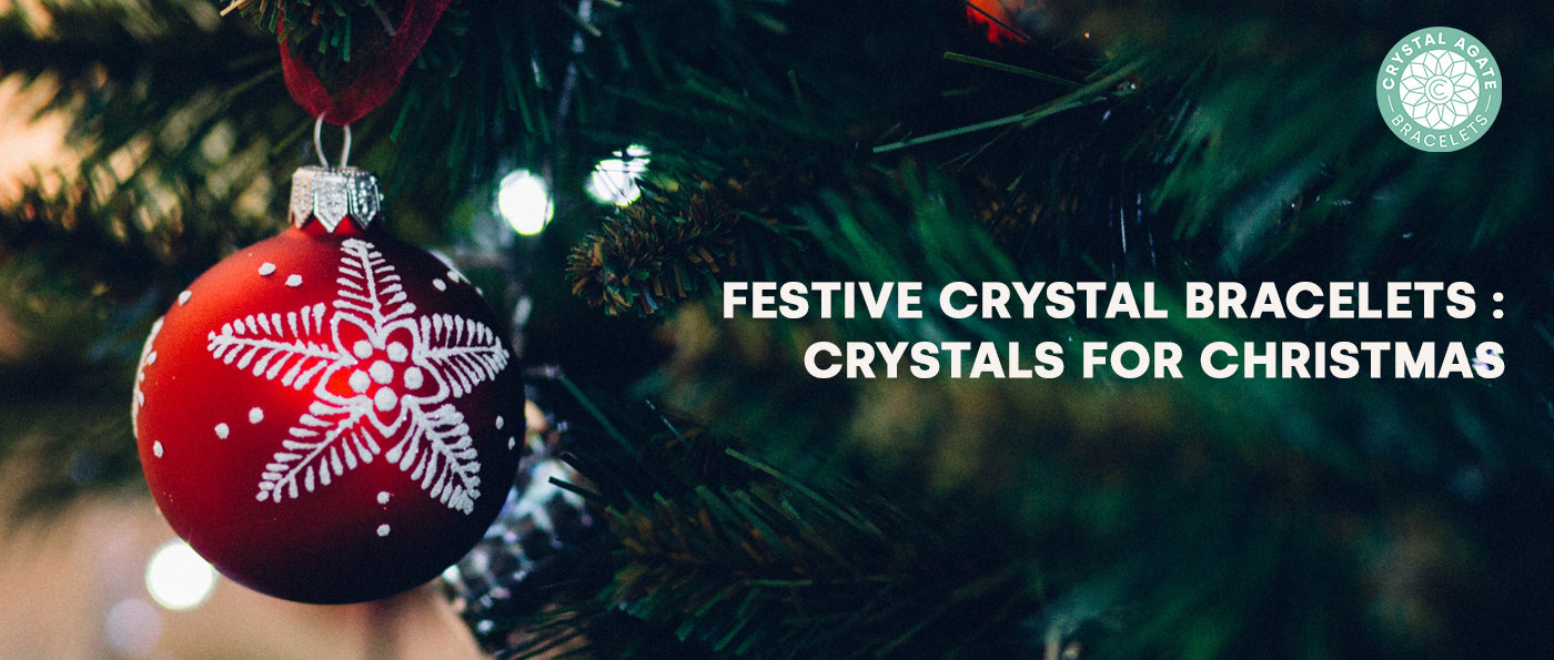 Festive Crystal Bracelets: Crystals for Christmas