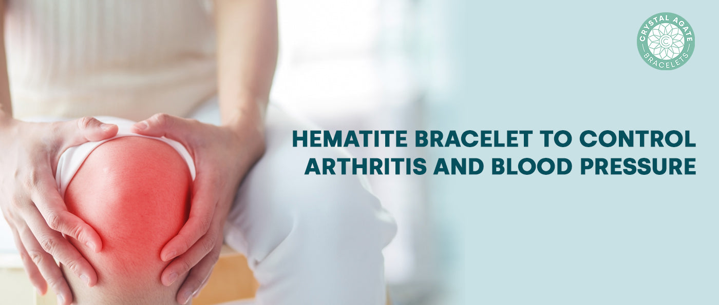 Hematite Bracelet to control Arthritis and Blood Pressure