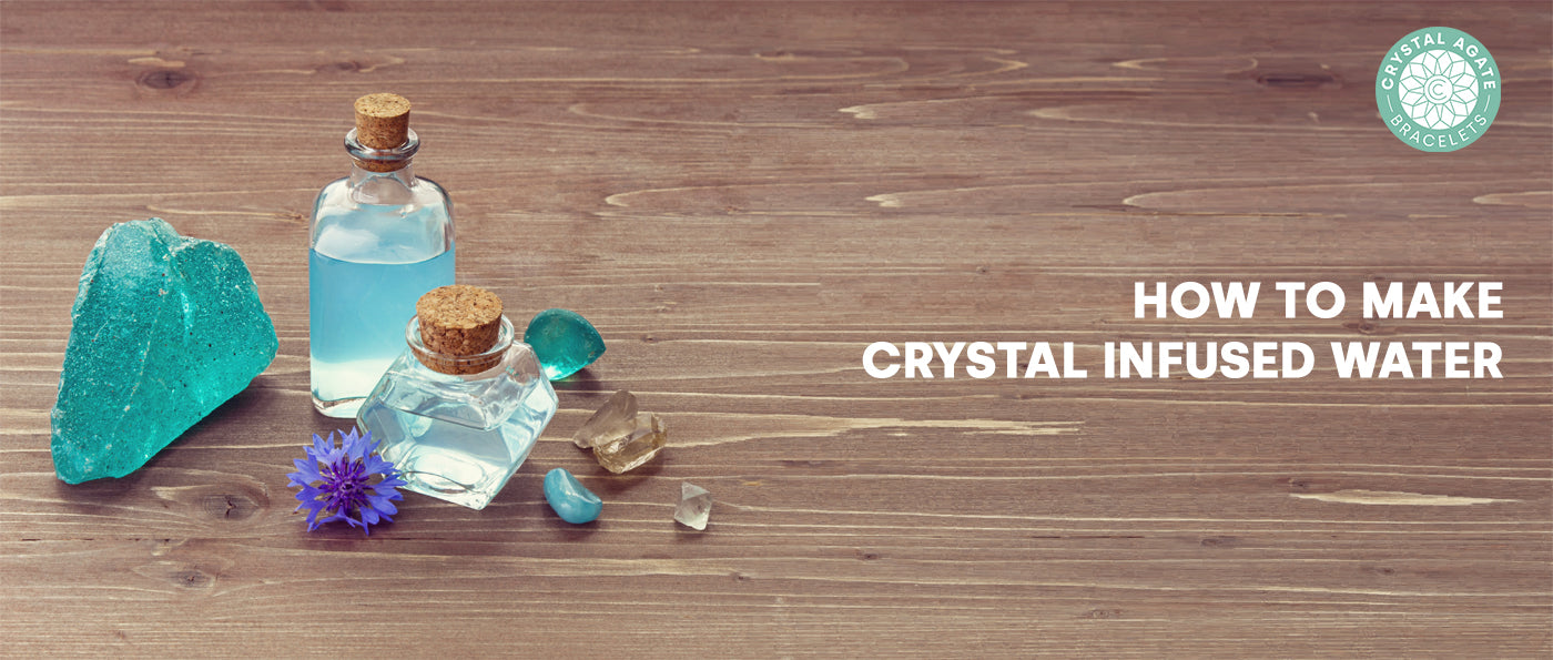 How to make crystal infused water