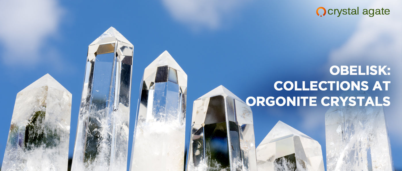 Obelisk: Collections At Orgonite Crystals