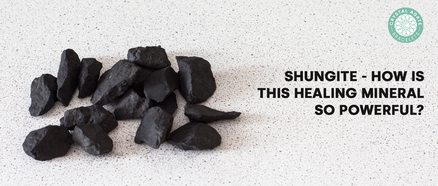 SHUNGITE - How Is This Healing Mineral So Powerful?