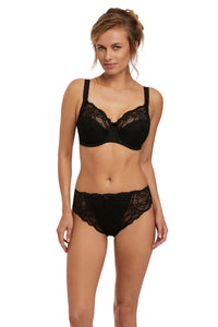 Fantasie - Jacqueline Lace Black Uw Full Cup Bra With Side Support