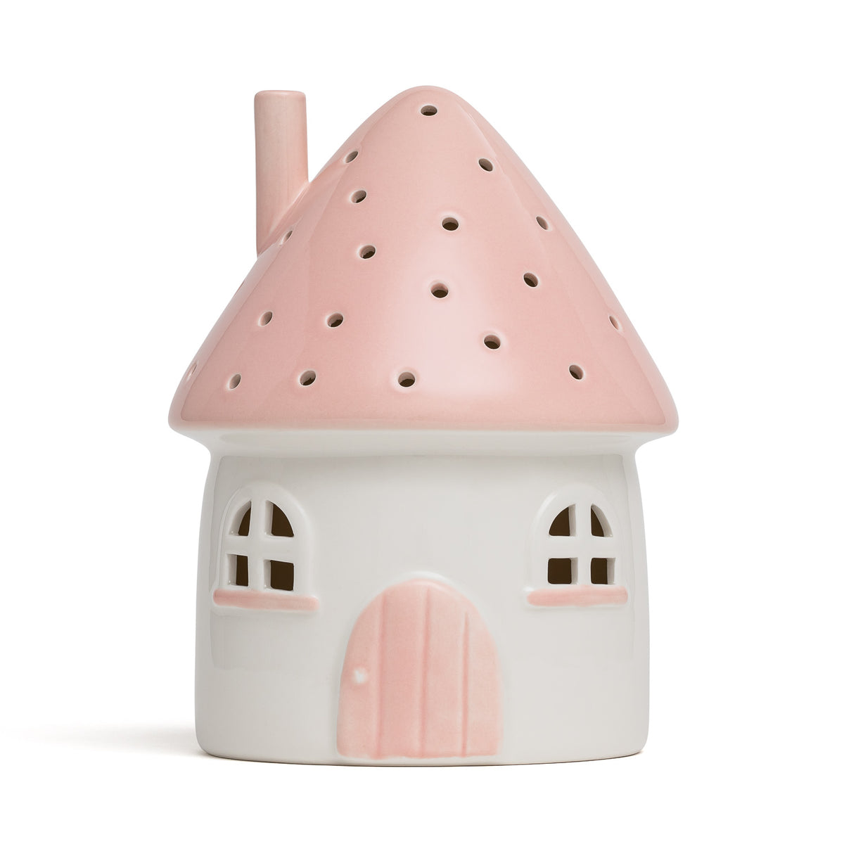 Little Belle Elfin House Nightlight - Pink [Battery]