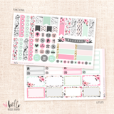 Girly Planner sticker kit