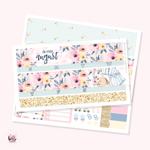 August 2020 Monthly Sticker Kit
