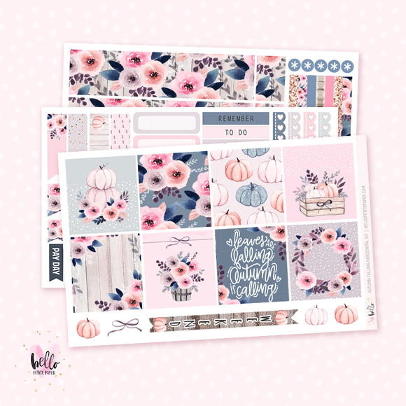 Autumn calling - Horizontal sticker kit