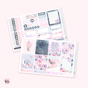 Bird Song - Horizontal sticker kit