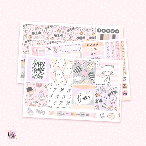 Boo! - Horizontal sticker kit