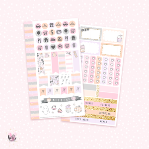 Boo! - Personal size sticker kit