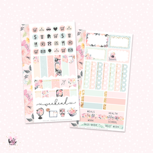 Book Lover  - Personal size sticker kit