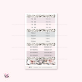 Boudoir  - sticker kit