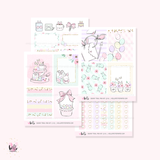 Bunny Trail - Mini sticker kit