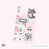 Prickly Pink - Personal size sticker kit