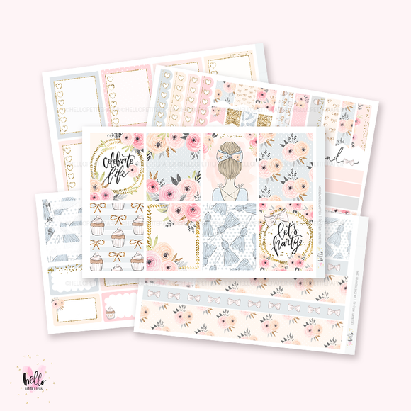 Celebrate sticker kit